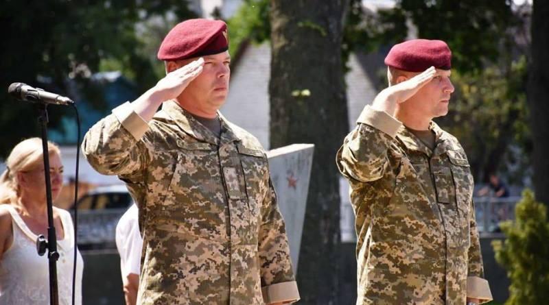 Заходи з вшанування загиблих десантників України