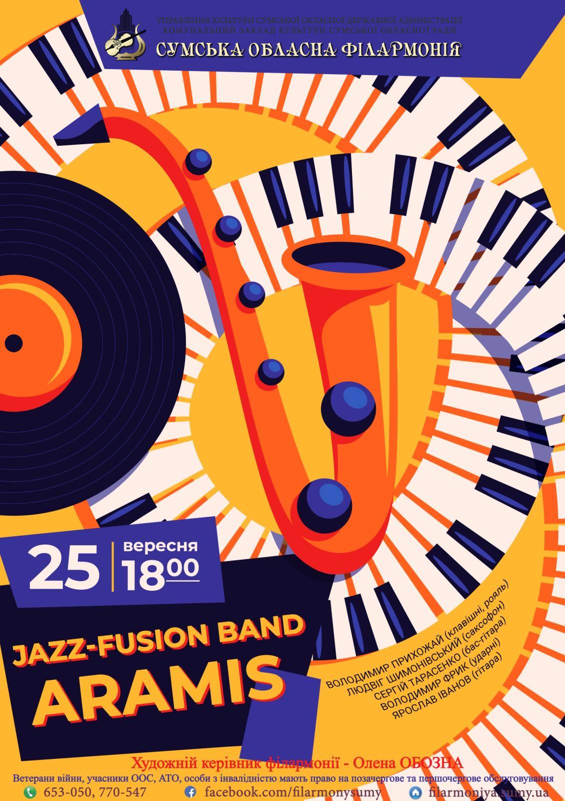 "Jazz-fusion band ""Aramis"""
