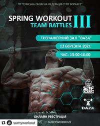 Spring Workout Team Battles III