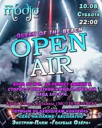"""Open Air """"Queen of the beach"""""""