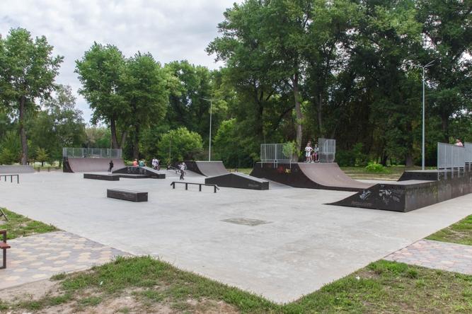 Скейт - парк (Екстрім - парк)